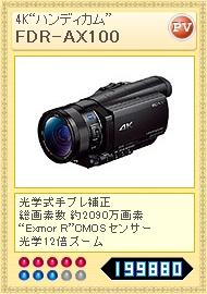 FDR-AX100